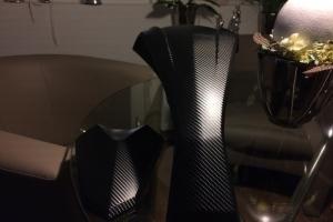 Tankabdeckung Carbon 4D foliert