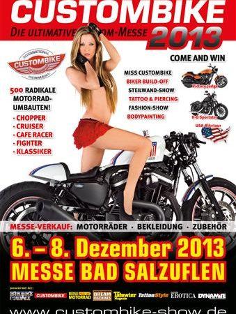 Custombike 2013 – Freikarten zu vergeben!