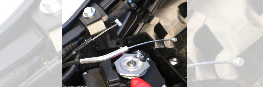 Bowdenzüge & Stellmotor bei neuem Endschalldämpfer