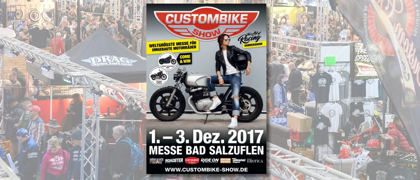 Custombike-Show 2017 Bad Salzuflen