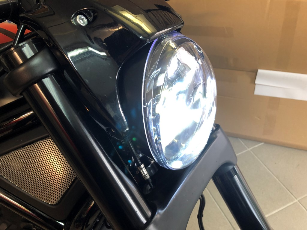 China LED Scheinwerfer an Night Rod Special