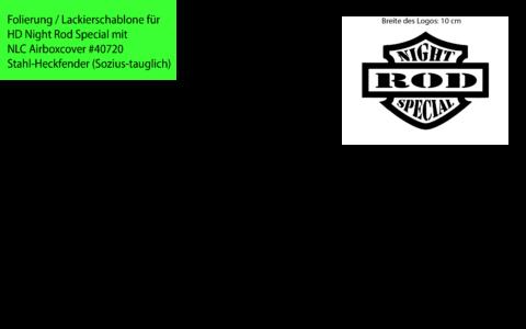 Night Rod Special Schriftzüge Decals – NLC #40720