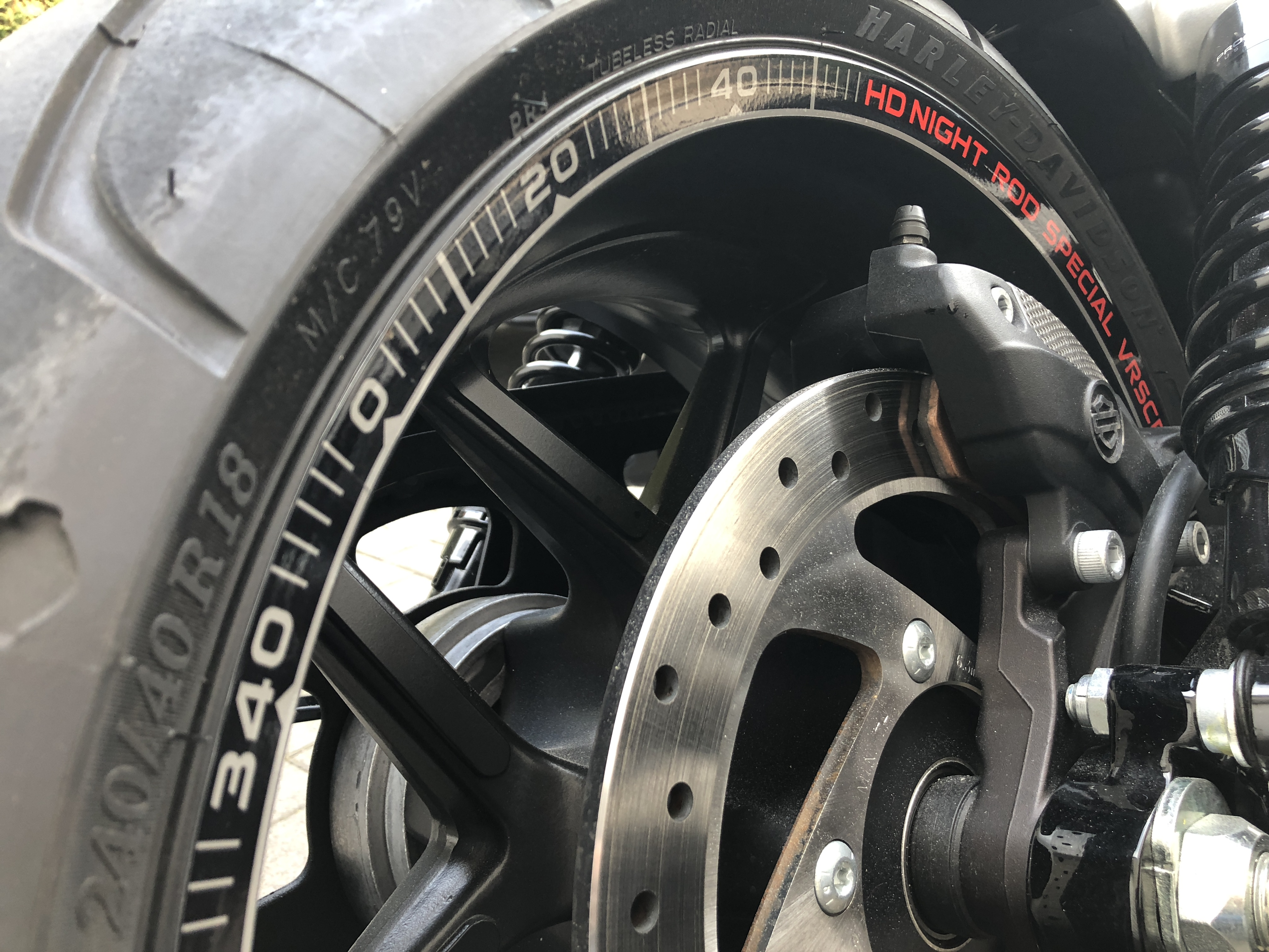 Night Rod Special Felgenaufkleber Rim Decals