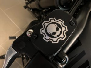 Brems- und Kupplungsdeckel von Road Rebel