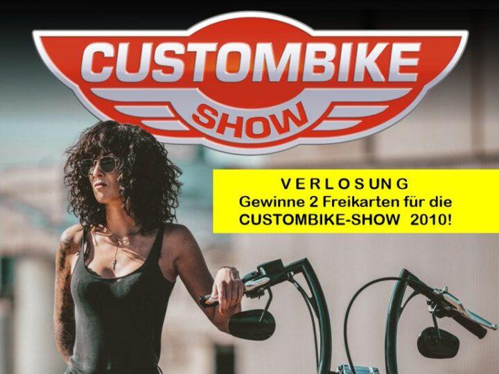 Gewinnspiel: 5×2 Karten für die Custombike-Show